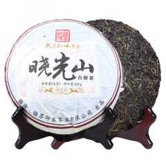 2011年岁月知味 晓光山古树茶 生茶 380克/饼