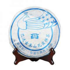 2006年大益 巴达古茶山孔雀饼茶 生茶 400克/饼