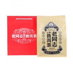 2018年老同志 普洱散茶(三级) 熟茶 500克/袋