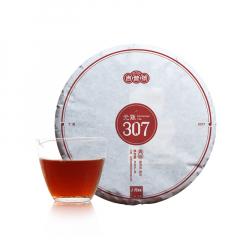 2017年吉普号 元熟307 熟茶 357克/饼