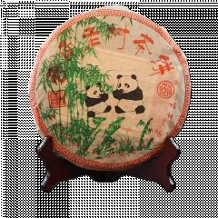 2006年郎河 云南老树茶饼(熊猫饼)  熟茶 357克/饼