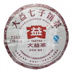 2012年大益 7262 201批 熟茶 357克