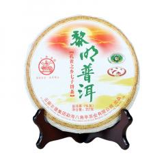 2018年八角亭 黎明普洱 生茶 357克/饼 单片