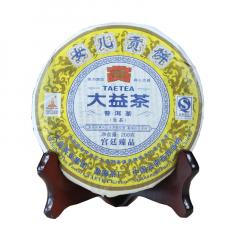2010年大益 女儿贡饼 生茶 200克/饼