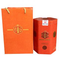 2016年大益 金柑普(大红柑柑普茶) 集豪屯 熟茶 200克/罐