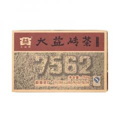 2007年大益 7562 701批 熟茶 250克/砖 单片