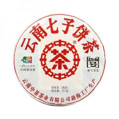 2018年中茶 勐海号 熟茶 357克/饼