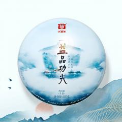 2018年大益 益品功夫 生茶 357克/饼