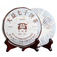 2006年大益 7672 熟茶 357克/饼
