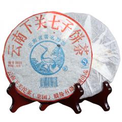 2006年下关 8633泡饼 生茶 357克/饼 单片