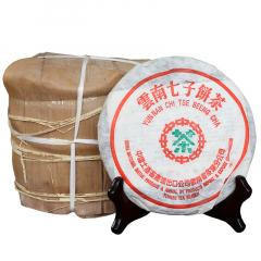 2001年福海茶厂 陈年干仓 宫廷贡饼 中茶版 熟茶 250克/饼