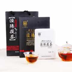 2016年百富茯茶 盛世华茯 黑茶 400克/盒
