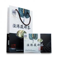 2016年百富茯茶 黑白盒 黑茶 400克/盒