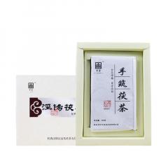 2016年百富茯茶 天运系列·泾阳茯茶经典手筑 黑茶 500克/盒