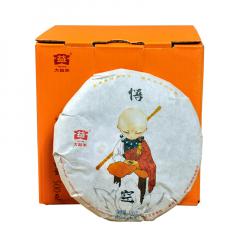 2016年大益  猴年生肖纪念饼 悟空 熟茶100克/饼
