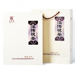 2016年百富茯茶 天运系列·泾阳茯茶经典手筑 黑茶 900克/盒