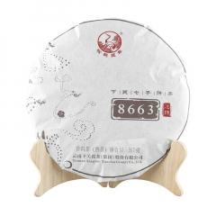 2018年下关 金榜8663 泡饼 熟茶 357克/饼