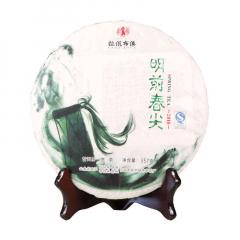 2018年拉佤布傣 明前春尖 生茶 357克/ 饼