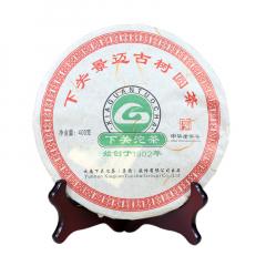 2012年下关 景迈古树圆茶 生茶 400克/饼