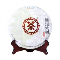 2018年中茶 懂过大树 生茶 357克/饼