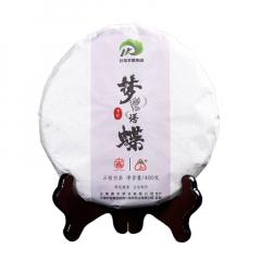 2018年八角亭 嘉木 梦语蝶 云南白茶 400克/饼