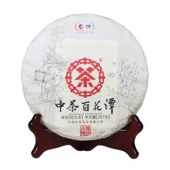 2018年中茶 百花潭 生茶 357克/饼