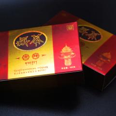 吉祥藏茶 精品康砖 黑茶 500克/盒