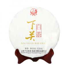 2018年下关 月光白 景谷白茶 礼盒 320克/盒