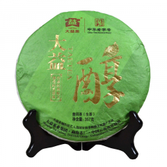 2011年大益 大益醇 101批 生茶 357克 单片