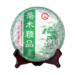 [五号任选]2006年八角亭 乔木精品 生茶 357克/饼