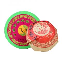 2013年下关 红盒特沱 生茶 100克 1盒