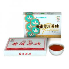 2015年中茶 金花熟砖 熟茶 250克/盒