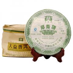2007年大益 厚青饼 生茶 500克/饼