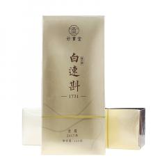 2018年妙贡堂 白速斟·1731 白茶(贡眉) 125克/盒