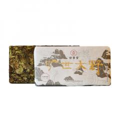 2018年妙贡堂 旷世大野 白茶(寿眉)  500克/盒