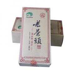 2019年八角亭 老茶头  熟茶 400克/盒