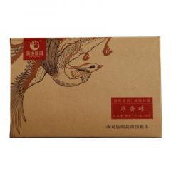 2017年国艳 枣香砖 熟茶 250克/砖