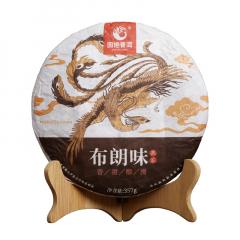 2018年国艳 布朗味 熟茶 357克/饼