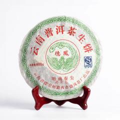 2008年德凤 明前春尖老树茶 生茶 400克/饼