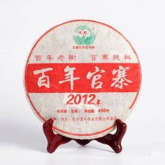 2012年德凤 百年官寨 生茶 400克/饼