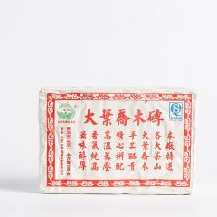 2012年德凤 大叶乔木砖 生茶 500克/砖