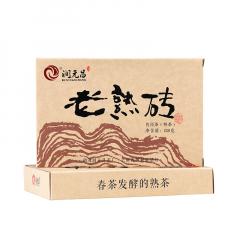 2016年润元昌 老熟砖 熟茶 250克/砖