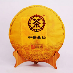 2018年中茶 曼松 生茶 357克/饼