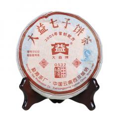 2005年大益 0532 熟茶 200克/饼