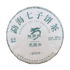 2019年龙园号 龙园茶 勐海七子饼茶 生茶 380克/饼