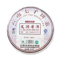 2007年龙润 普洱陈香饼 熟茶 357克/饼