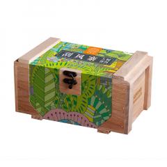 2019年俊仲号 刮风寨大树头春茶 木礼盒装 生茶 200克/盒
