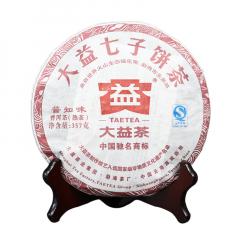 2012年大益 普知味 201批 熟茶 357克
