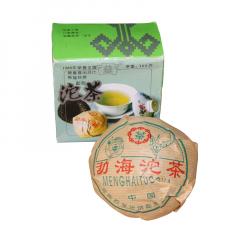 2003年大益(勐海茶厂) 熊猫沱(红标) 勐海沱茶 生茶 100克/沱