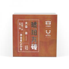 大益 琥珀方砖 熟茶 方格茶 60克/片 单片